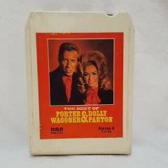 The Best of Porter Wagoner Dolly Parton 8 track Cartridge RCA ...