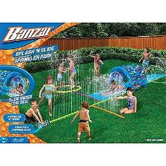 Water Slide Sprinkler Outdoor Backyard Park Center Kids Play F...