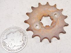 63-66 HONDA C200 TOURING 90 #2 FRONT PRIMARY DRIVE SPROCKET 15...