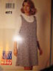 4073 Vintage Butterick SEWING Pattern YES! IT'S EASY Jumper To...