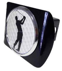 Golf (Male Swing) Black Hitch Cover