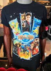 Universal Studios Hollywood USH Multi Character Adult T-Shirt ...