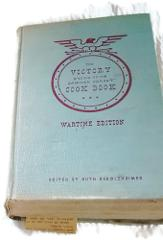 1943Victory Binding of The American Woman's Cook Book Wartime ...