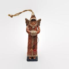 Resin Angel With Movable Arms Christmas Holiday Ornament