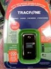 LG 420G Pre-Paid Cell Phone for TracFone - Black