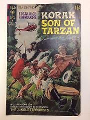 Edgar Rice Burroughs Korak Son of Tarzan #43 Comic Book Gold K...