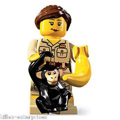 LEGO Minifigures Series 5 Zookeeper Action Figure