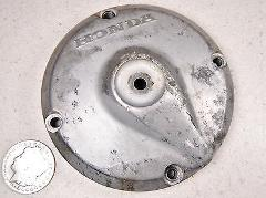 64-66 HONDA CT200 #6 RIGHT SIDE CLUTCH ADJUSTER COVER