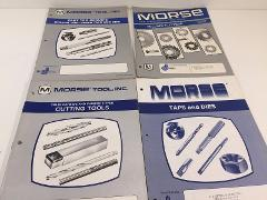 Vintage Late 1980's Morse Tool Catalogs Set of 4 Milling Cutte...