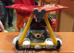 DISNEY PARKS DCA PULL BAKC TOY MICKEY MOUSE SOARING AROUND THE...