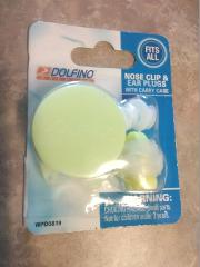 Dolfino Nose Clip & Ear Plugs With Carry Case