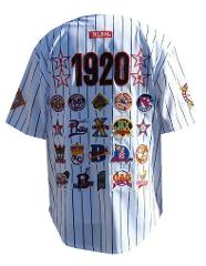 NEGRO LEAGUE COMMEMORATIVE BASEBALL JERSEY WHITE