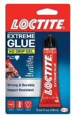 LOCTITE EXTREME GLUE No Drip Gel Adhesive Crystal Clear Multi ...