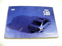 1999 VOLVO S80 Owners Manual Guide OEM USED