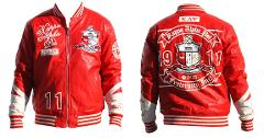 Kappa Alpha Psi PU Leather Jacket 1911