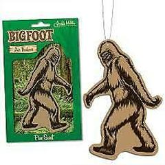 Bigfoot Deluxe Pine Scented Air Freshener Novelty Gift