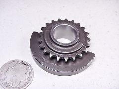 83 HONDA FT500 FT 500 ASCOT BALANCER COUNTER-WEIGHT SPROCKET