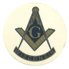 Freemason Compass Masonic Free Mason Window Car Truck Decal St...