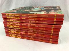 My Bible Friends by Etta B Degering Volumes 1-10 Complete Book...