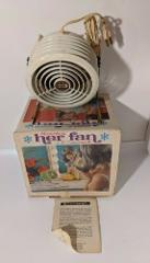 Vintage Her Personal Fan White Cornwall Working 4107-01 USA in...
