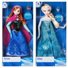 Disney Store ANNA and ELSA Classic 12