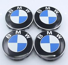BMW 68mm Wheel Centre Caps for all Models of BMW x4 Blue White