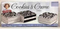 Little Debbie Cookies & Creme Cakes 12.39 oz