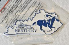 The Original Collectables Magnet State Kentucky boat horse rac...