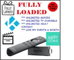 Fully Loaded Unlocked Amazon Fire TV Stick
