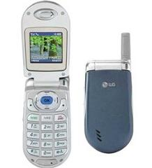 LG VX3200 Mobile Cell Flip Phone Verizon Blue/Silver