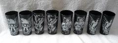 8 New Sailor Jerry Spiced rum plastic cups glasses 13 oz hula ...