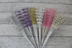 Pearl Sprays Wedding Stem Pick Beads Favour Craft Bouquet De...