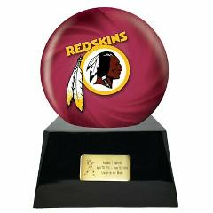 Large/Adult 200 Cubic Inch Washington Redskins Metal Ball on C...