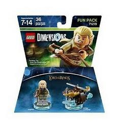 LEGO Dimensions Lord Of The Rings Legolas Fun Pack 71219