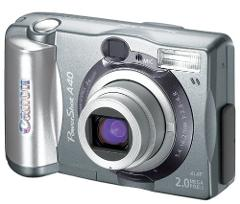 Canon PowerShot A40 2MP Digital Camera w/ 3x Optical Zoom