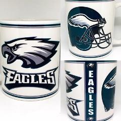 Custom Made Philadelphia Eagles 11oz Coffee Cup Personalized w...