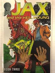 Jax and the Hell Hound #3 Comic Book Blackthorne Publishing 1987
