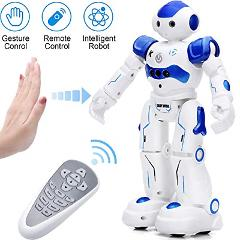 KINGSDRAGON Robot Toys RC Robot for Kids Rechargeable Intellig...