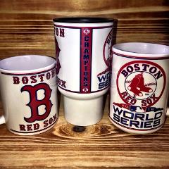 Custom Made Boston Red Sox World Series Champions Mugs Select ...