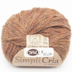 Skacel HiKoo Simpli Cria Yarn #255 Chocolate Mousse