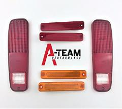 A-Team Performance 6pc Tail Light and Side Fender Kit Compatib...