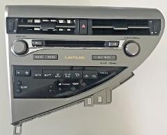 Lexus RX Radio Faceplate 2013-2014 RX350 RX450 PT# 86140-0E010...