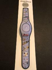 Disney Parks MagicBand Tomorrowland Purple Linkable Magicband New