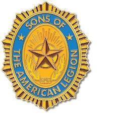 American Legion Sons Medallion for Box Cremation Urn/Flag Case...