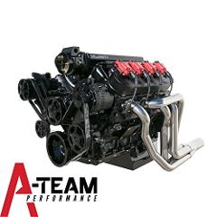 A-Team Performance BLACK LS LS1 LS2 LS6 FRONT DRIVE SERPENTINE...