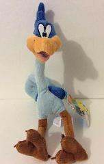 Six Flags Magic Mountain Looney Tunes Road Runner Plush 12