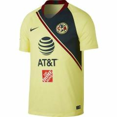 Nike Club America Home Soccer Jersey 2018/19 Yellow/Navy