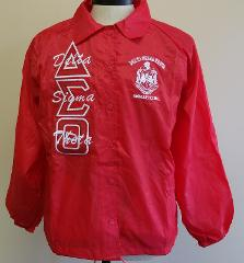 Delta Sigma Theta Sorority Line Jacket 1913 Fortitude Red Cro...