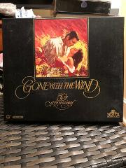 Big Box GONE WITH THE WIND 50TH ANNIVERSARY 2-TAPE SET Isbn 07...