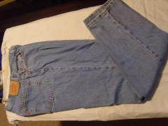 Womens Levis 550 Relaxed Tappered Jeans Size: 14L